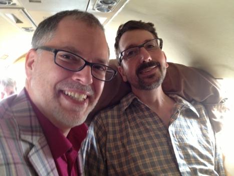 Jim Obergefell John Arthur (sağda) 2013'te Maryland'de evlendi. Arthur'un hastalığı ağırlaşmıştı.